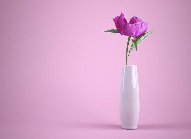 wysoki wazon